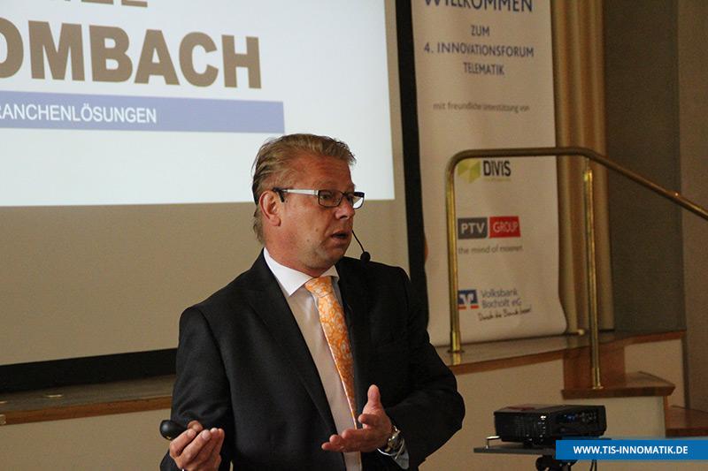 Gastredner Daniel Dombach auf der InnoMATIK 2016   TIS GmbH
