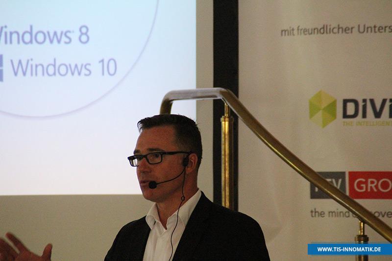 Gastredner Sven Scheller auf der InnoMATIK 2016