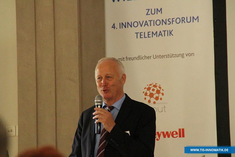Josef Bielefeld auf der InnoMATIK 2016   TIS GmbH