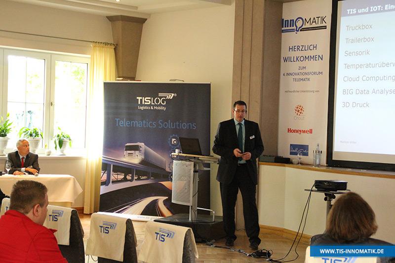 Markus Vinke auf der InnoMATIK 2016   TIS GmbH
