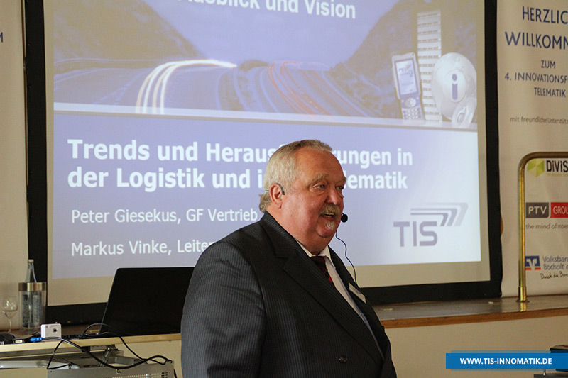 Peter Giesekus auf der InnoMATIK 2016   TIS GmbH